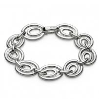 Kit Heath Sterling Silver Infinity Perpetua Bracelet